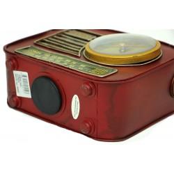 Radyo Tasarımlı Retro Saatli Kumbara