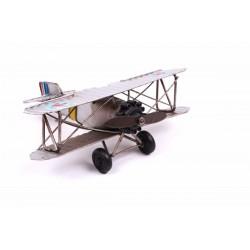 Metal Çift Kanatlı Uçak
