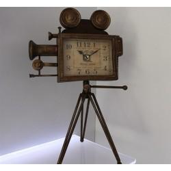 Ayaklı Kamera Masa Saati