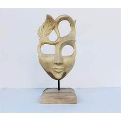 Ahşap Modern Maske