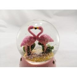 Flamingo Işıklı Küre