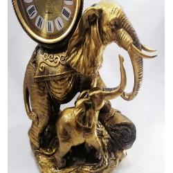 Fil Figürlü Masa Saati