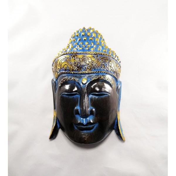 Mavi Buda Duvar Süsü