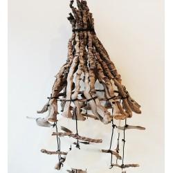 Çadır Model Deniz Kabuklu Rüzgar Çanı
