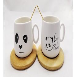 Panda Model Fincan