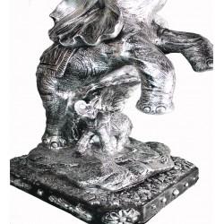 Dekoratif Fil Sehpa